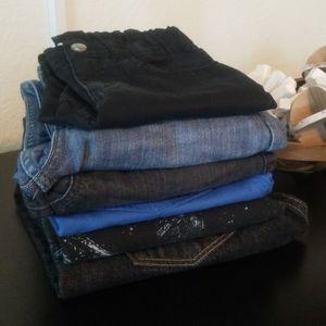 Levi's, Crazy 8, Cat & Jack Boys Pants/Shorts (6)